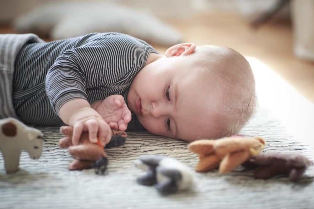 Hoe spelen baby's